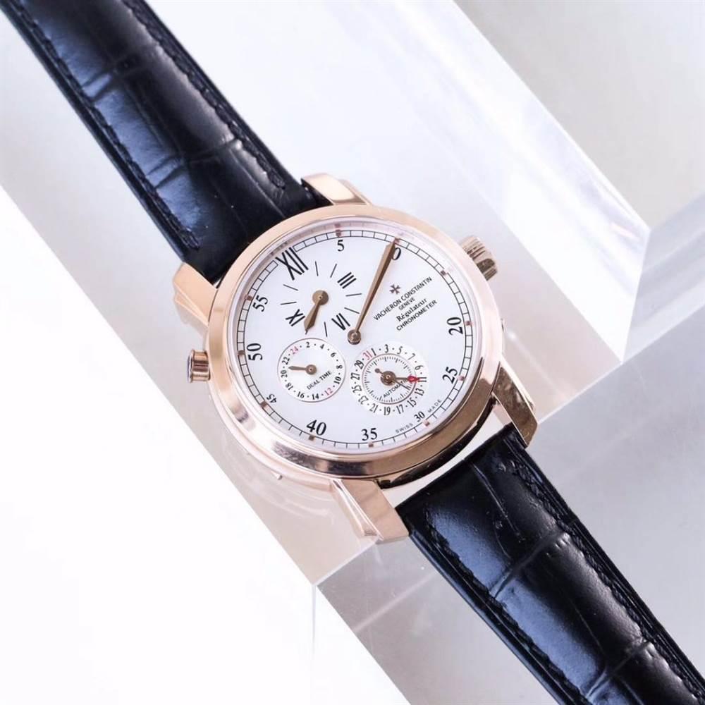 江诗丹顿马耳他系列42005两地时腕表首发详解 第4张