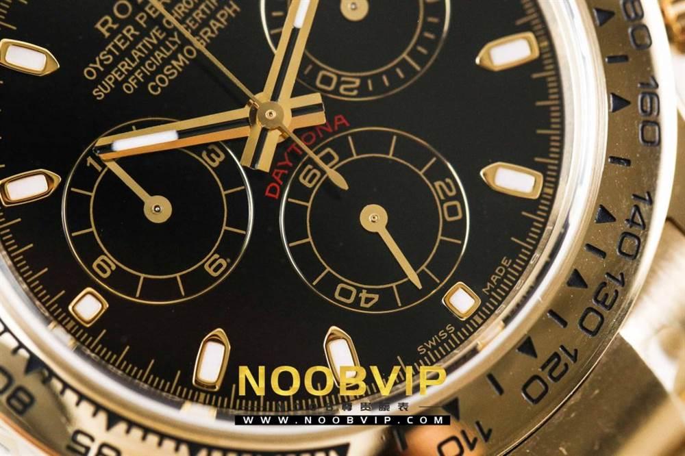 AR厂劳力士宇宙计型迪通拿系列116508黑盘腕表「最新版本」做工如何 第10张