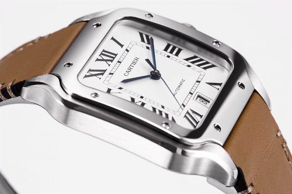 KOR厂卡地亚山度士系列WSSA0009(大号)腕表首发 第8张
