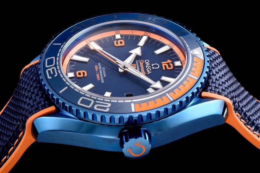 JH厂欧米茄海马600系列碧海之蓝腕表首发详解 第6张