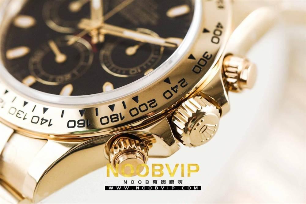 AR厂劳力士宇宙计型迪通拿系列116508黑盘腕表「最新版本」做工如何 第12张