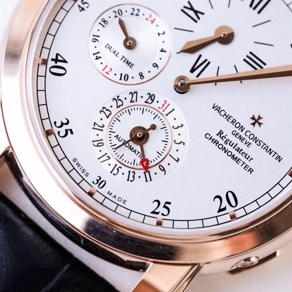 江诗丹顿马耳他系列42005两地时腕表首发详解 第7张