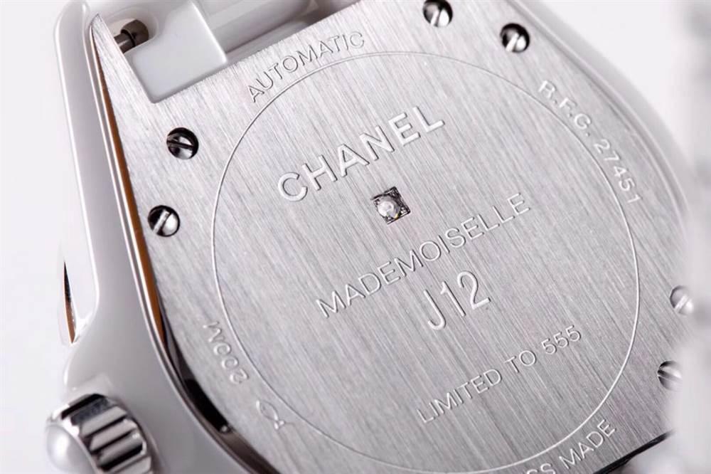 KOR厂香奈儿J12系列MADEMOISELLE J12腕表首发详解 第10张