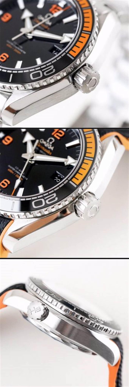 VS厂欧米茄海马600四分之一橙215.32.44.21.01.001腕表首发详解 第8张
