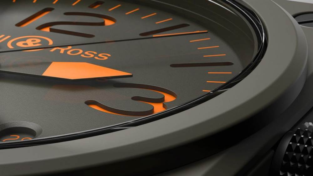 Bell&Ross 风格独特的一款腕表
