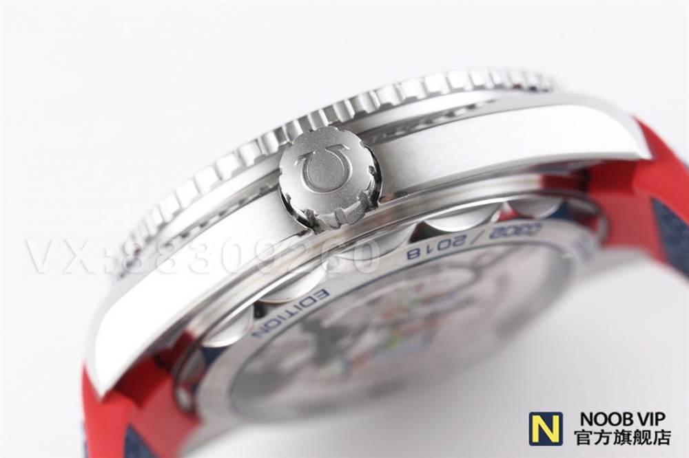 VS厂欧米茄百事可乐-奥林匹克平昌2018腕表做工如何 第9张