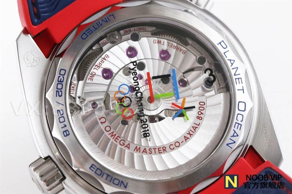 VS厂欧米茄百事可乐-奥林匹克平昌2018腕表做工如何 第22张