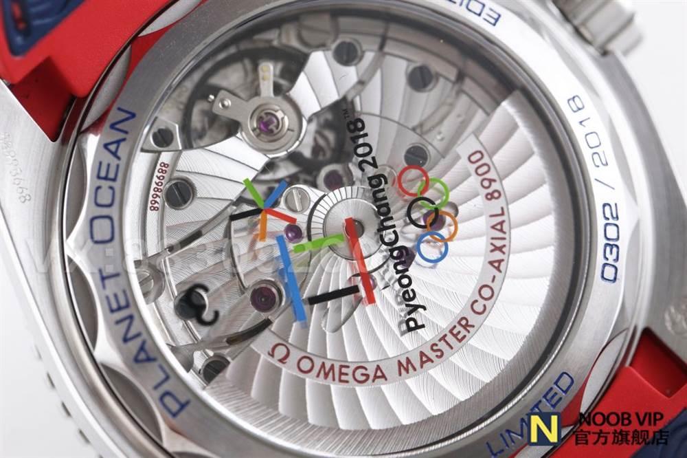 VS厂欧米茄百事可乐-奥林匹克平昌2018腕表做工如何 第24张