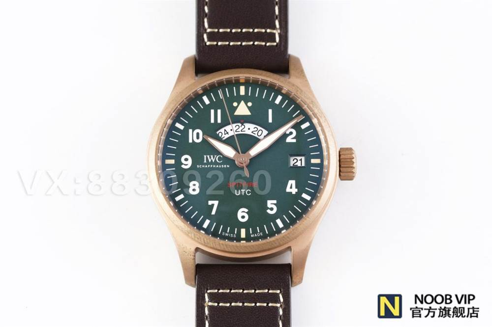 XF厂万国青铜喷火战机UTC飞行员-青铜材质腕表的魅力