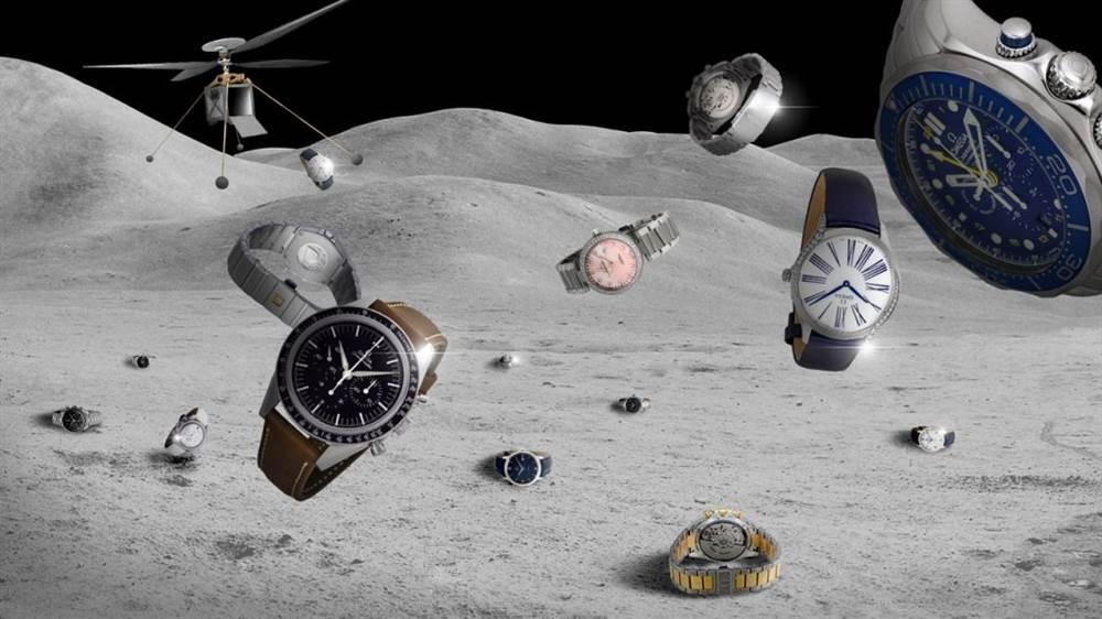 欧米茄手表重返月球,迎来阿波罗11号太空发射50周年 第6张