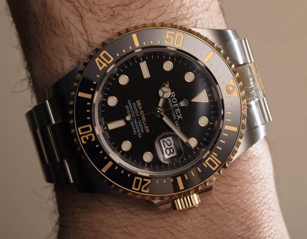 劳力士腕表126603 Sea-Dweller 第1张