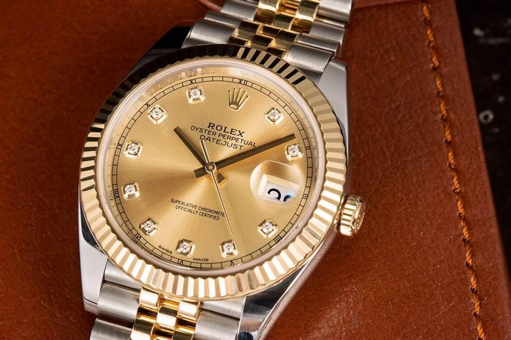 如今最受宠的都是那些双色腕表-劳力士间金腕表