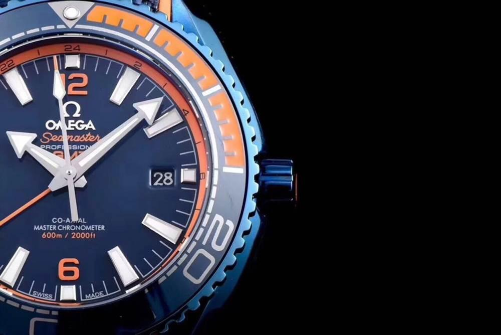 JH厂欧米茄海马600系列碧海之蓝腕表首发详解 第5张