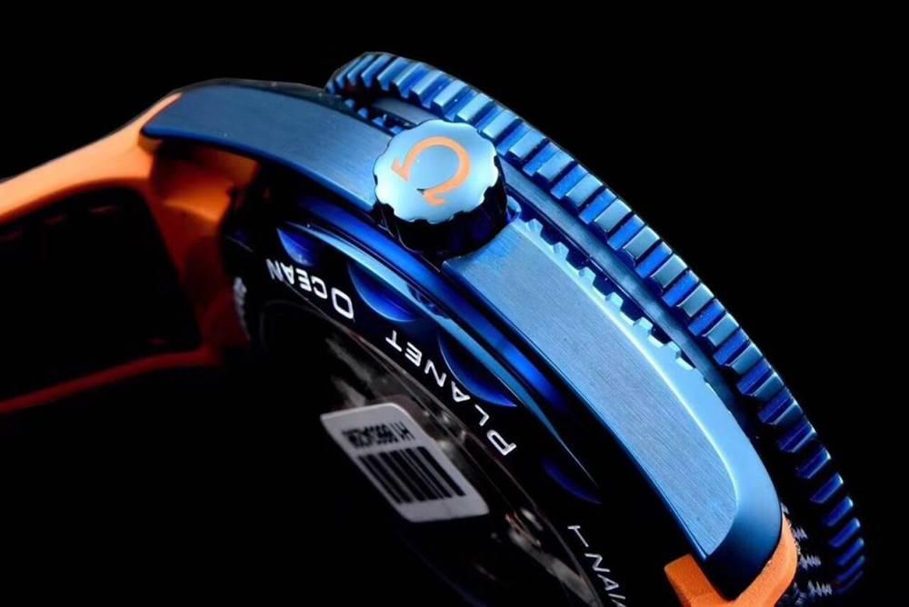 JH厂欧米茄海马600系列碧海之蓝腕表首发详解 第8张