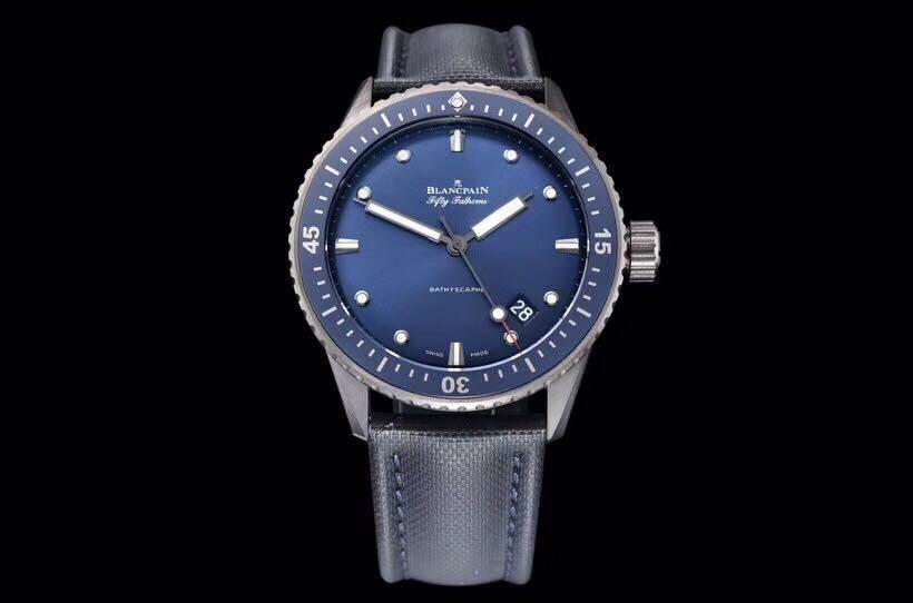 GF厂宝珀五十噚系列5000-0240-O52A腕表首发