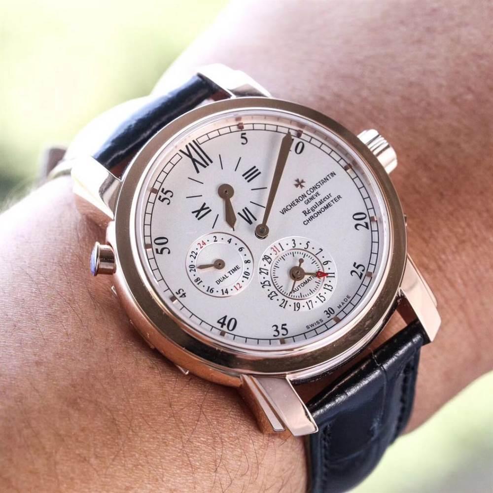 江诗丹顿马耳他系列42005两地时腕表首发详解 第5张