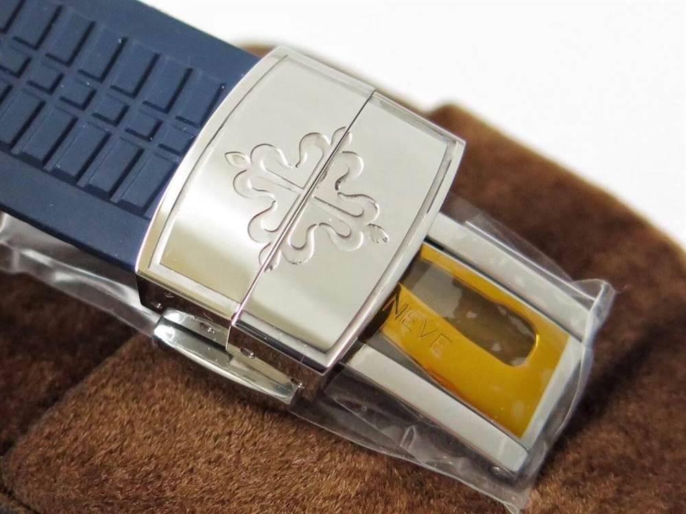 ZF厂百达翡丽AQUANAUT系列5168G-001手雷时计腕表 第10张