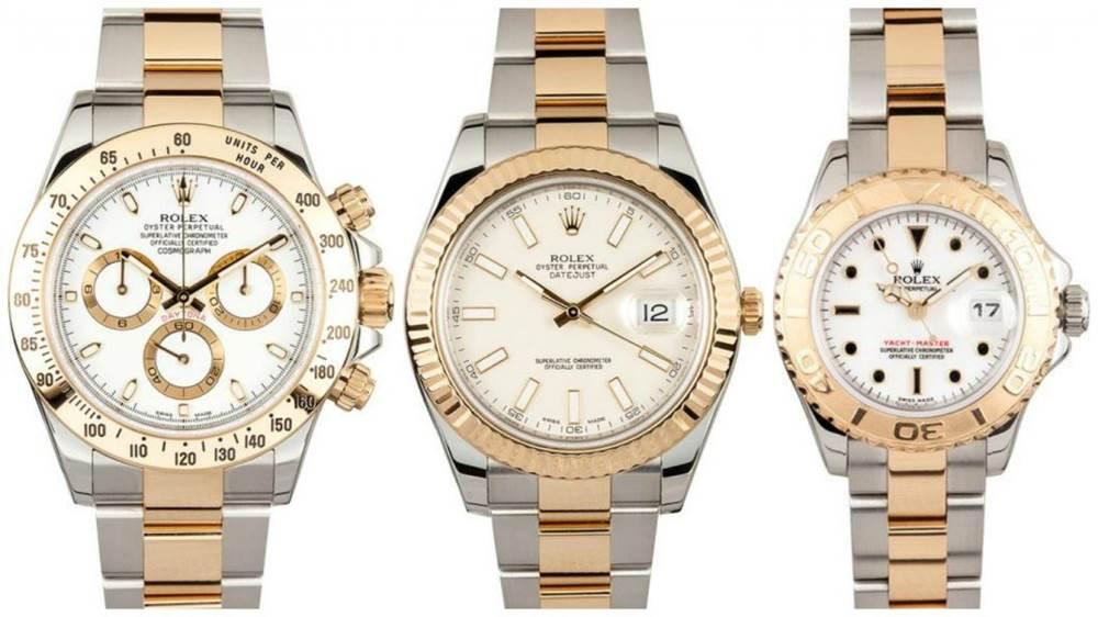 间金腕表推荐-最佳豪华双色手表 第1张