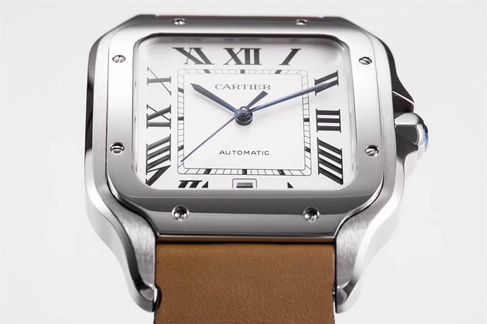 KOR厂卡地亚山度士系列WSSA0009(大号)腕表首发 第4张