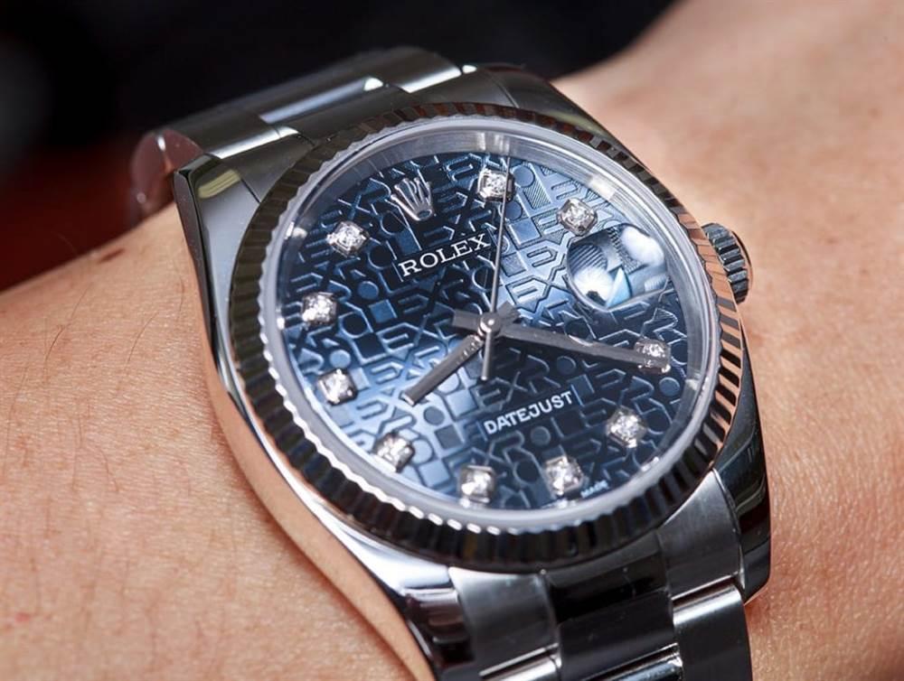 """""""Jubilee""""描述一种特殊风格的劳力士腕表"""