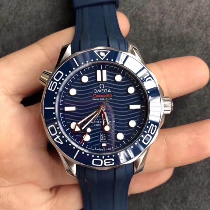 VS厂欧米茄海马系列300M赏析-绅士的深海之选