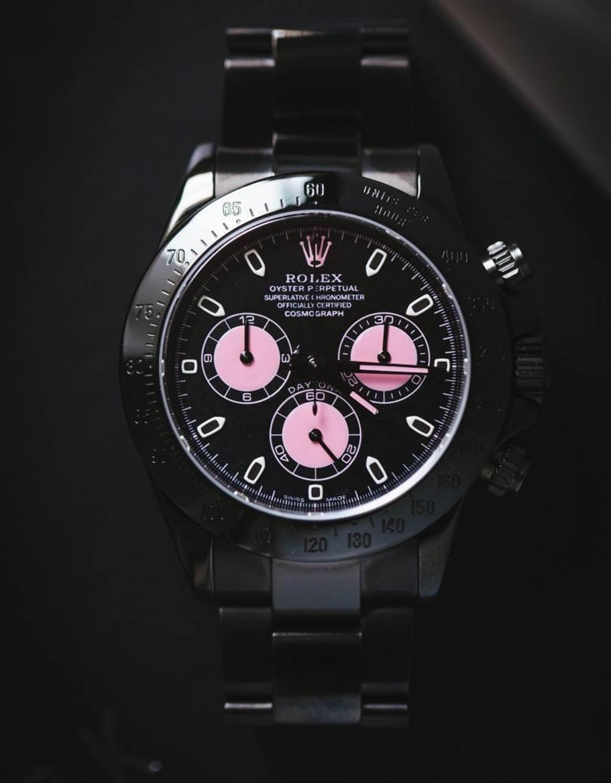 劳力士迪通拿改装表厂-Titan Black复刻表