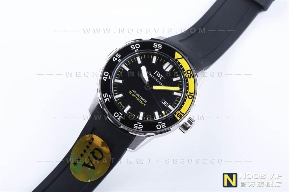 IWS厂万国海洋时计系列IW356802四分之一黄复刻表评测 第4张
