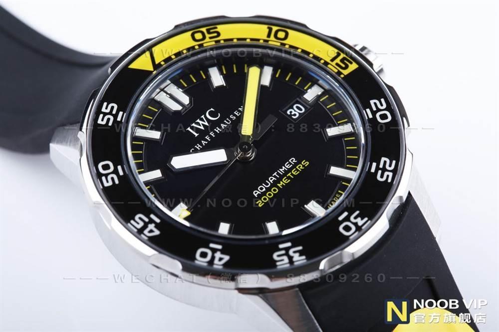 IWS厂万国海洋时计系列IW356802四分之一黄复刻表评测 第6张