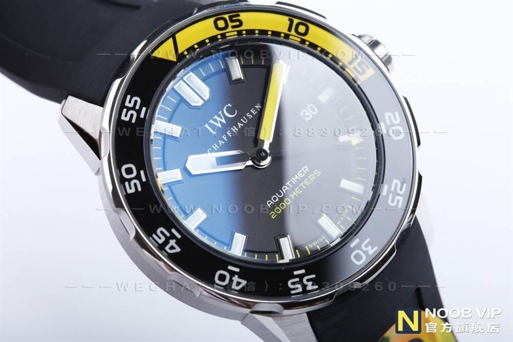 IWS厂万国海洋时计系列IW356802四分之一黄复刻表评测 第7张