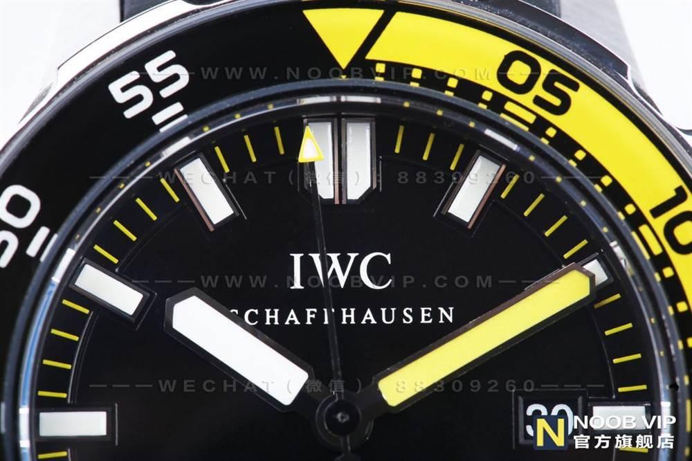 IWS厂万国海洋时计系列IW356802四分之一黄复刻表评测 第8张