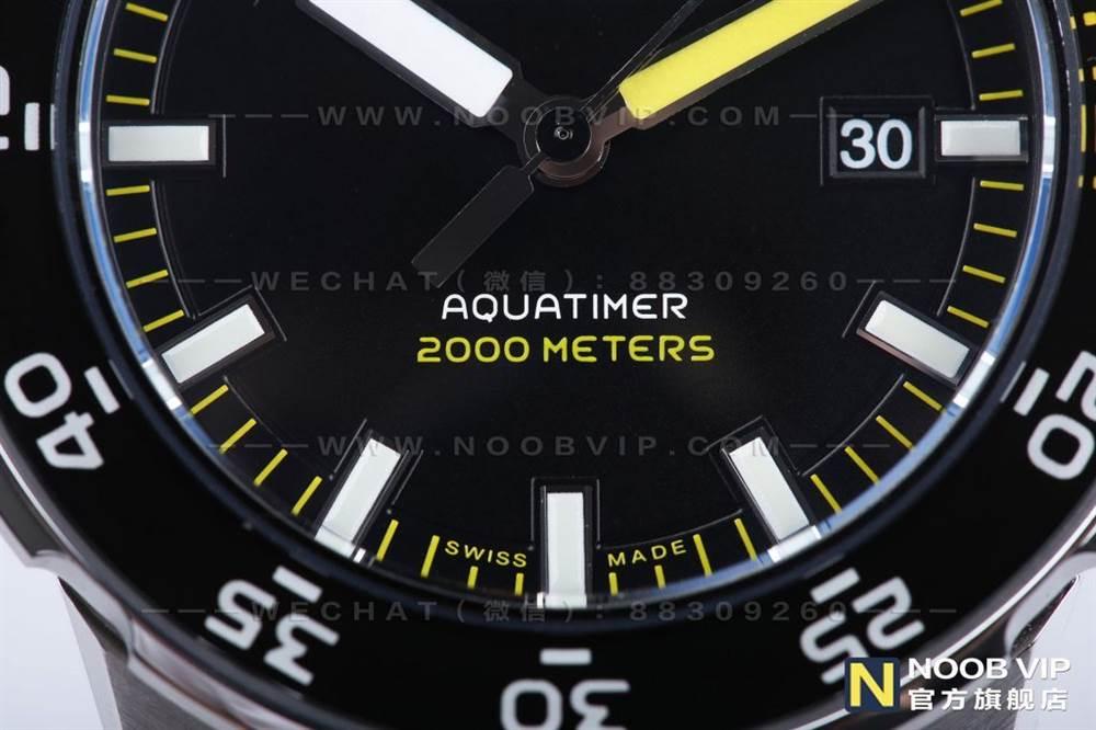 IWS厂万国海洋时计系列IW356802四分之一黄复刻表评测 第9张