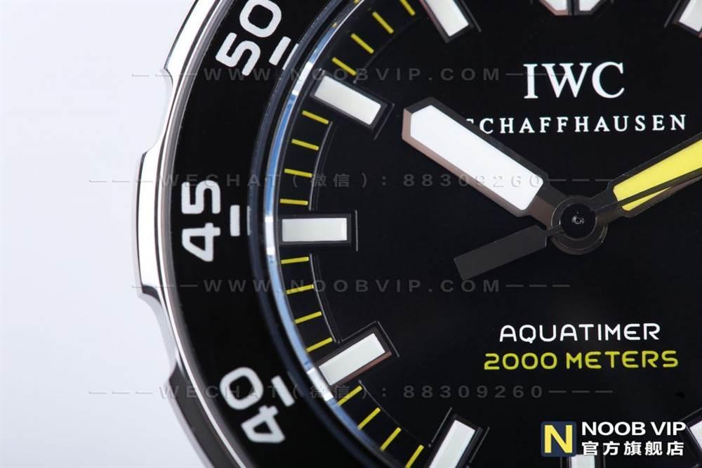 IWS厂万国海洋时计系列IW356802四分之一黄复刻表评测 第10张