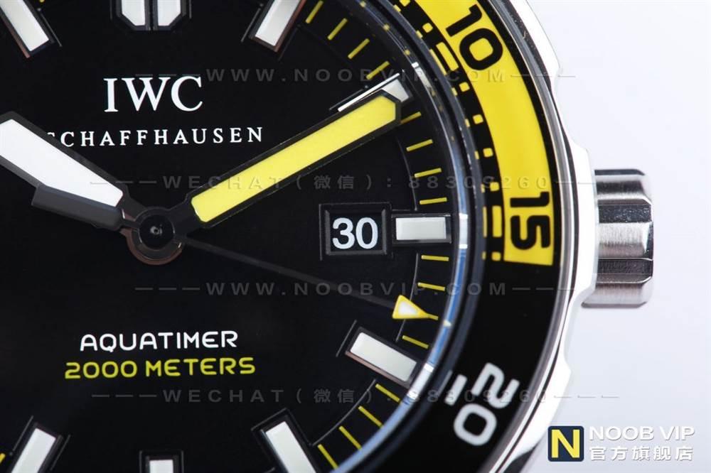 IWS厂万国海洋时计系列IW356802四分之一黄复刻表评测 第11张