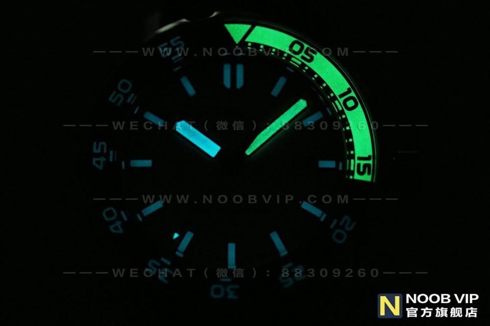 IWS厂万国海洋时计系列IW356802四分之一黄复刻表评测 第17张