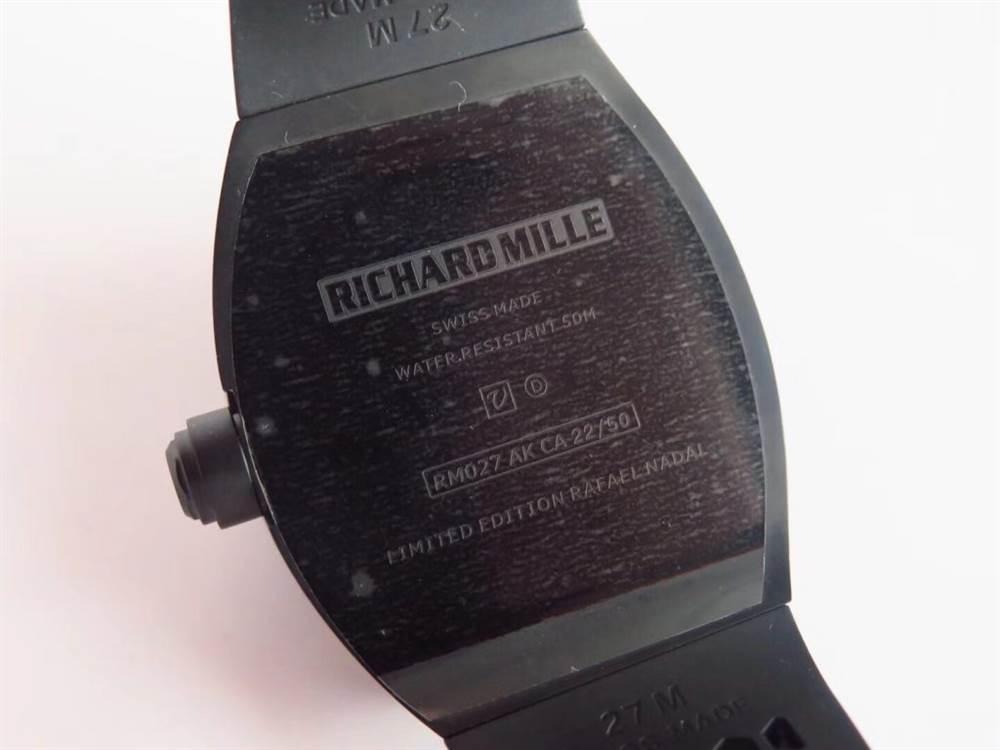 史上最强Richard Mille复刻表:EUR厂理查德RM027复刻表 第10张