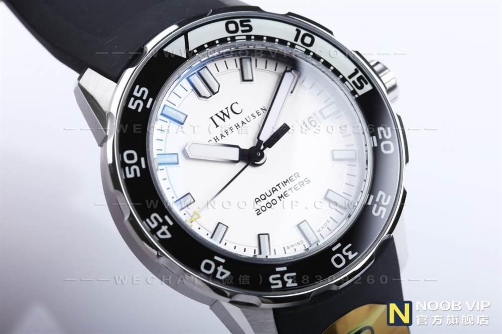 「四分之一白」IWS厂万国海洋计时IW356811复刻表-万国黑白配
