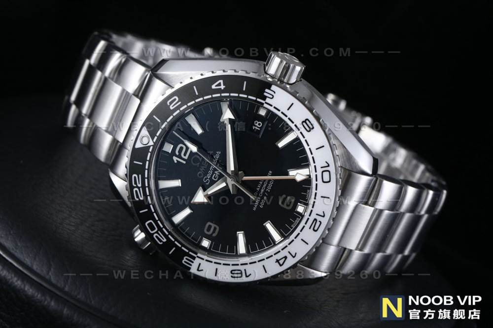 VS厂欧米茄海马海洋宇宙600GMT熊猫圈复刻表评测 第2张
