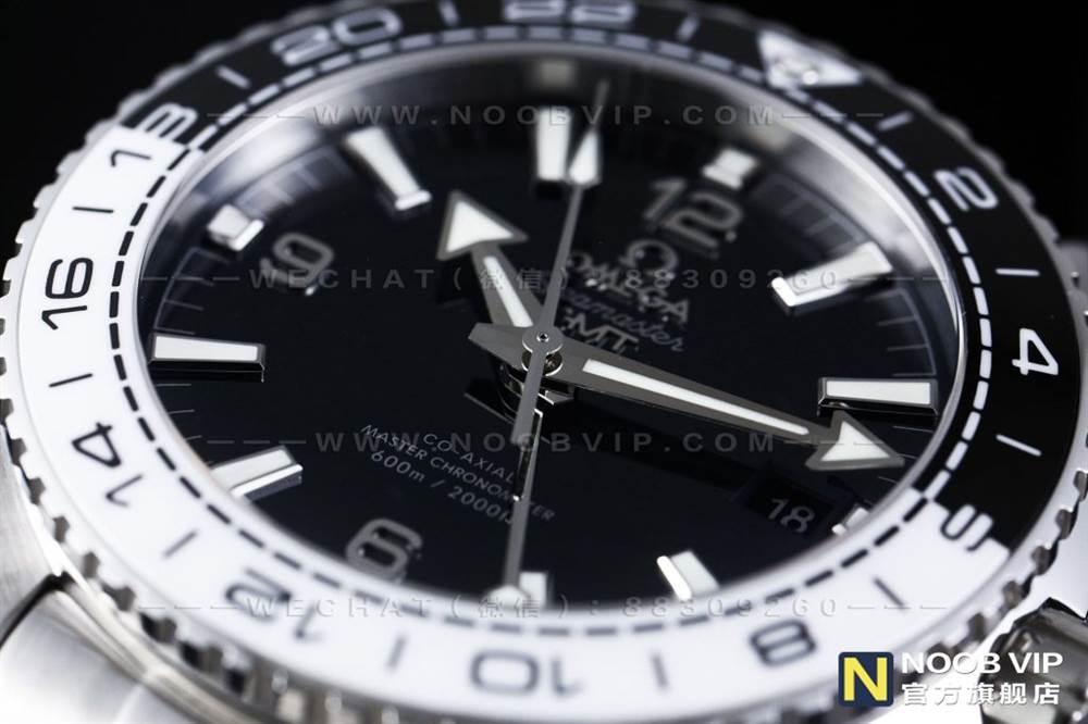 VS厂欧米茄海马海洋宇宙600GMT熊猫圈复刻表评测 第8张