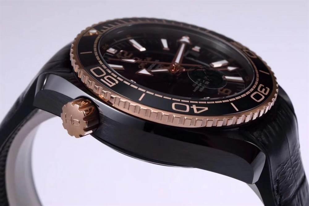VS厂欧米茄「深海之王」新品来袭-VS厂深海之黑玫金全陶瓷版复刻表 第13张