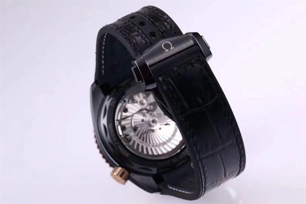 VS厂欧米茄「深海之王」新品来袭-VS厂深海之黑玫金全陶瓷版复刻表 第15张