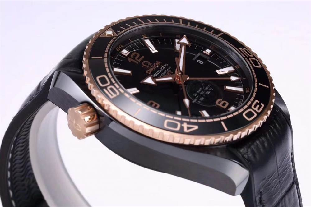 VS厂欧米茄「深海之王」新品来袭-VS厂深海之黑玫金全陶瓷版复刻表 第7张