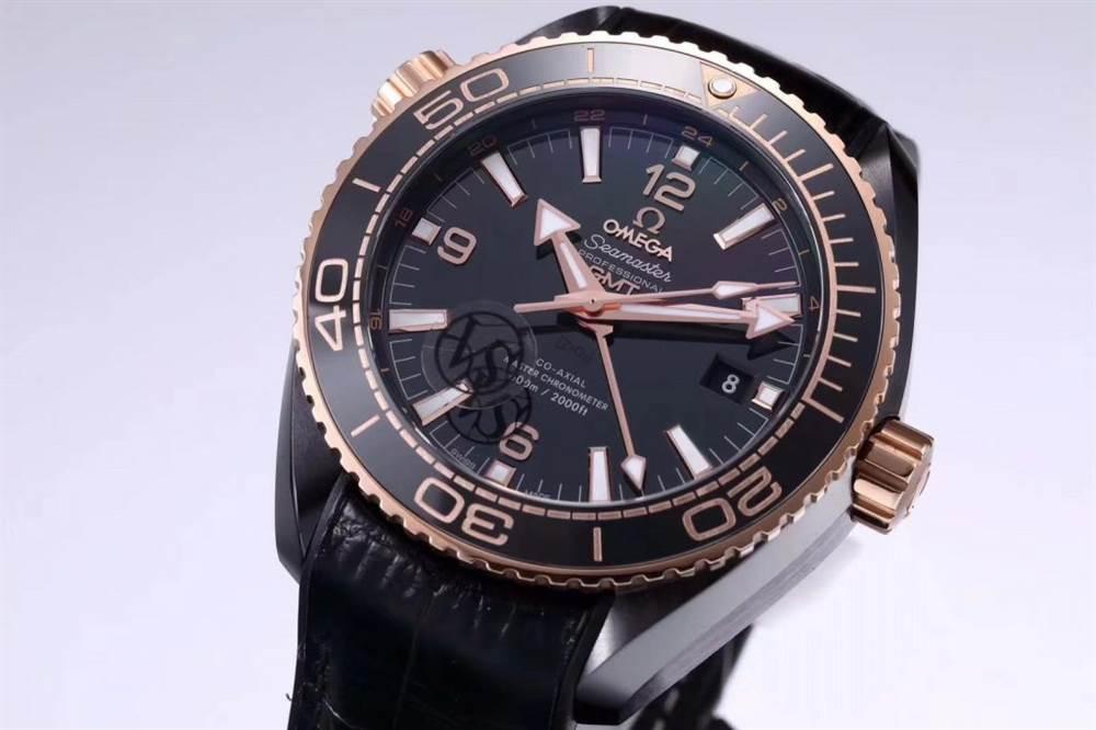 VS厂欧米茄「深海之王」新品来袭-VS厂深海之黑玫金全陶瓷版复刻表 第8张