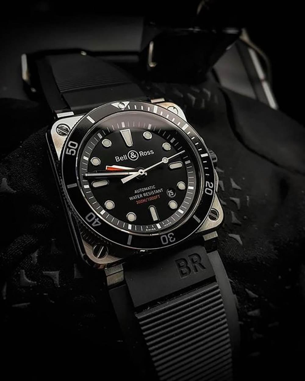 BBR厂柏莱士03-92DIVER Black Matte复刻表 第1张
