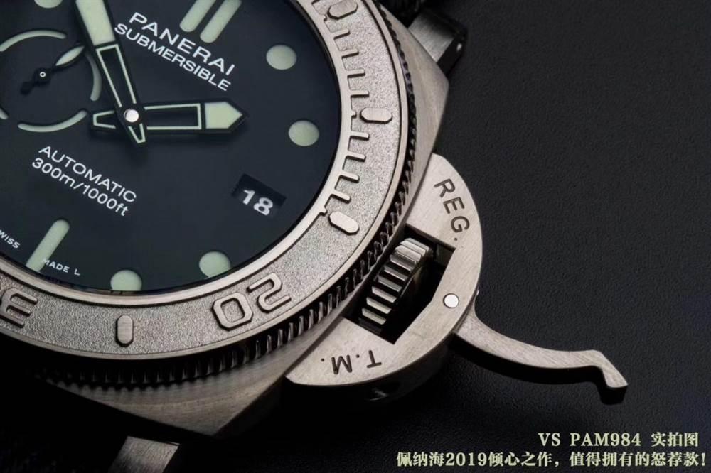 VS厂沛纳海PAM984-潜行系列「钛金属」47毫米沛纳海评测