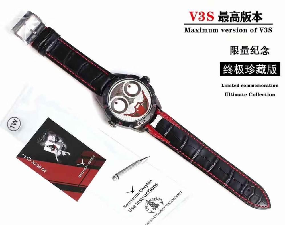 TW厂俄罗斯切金小丑V3S版本全款展示