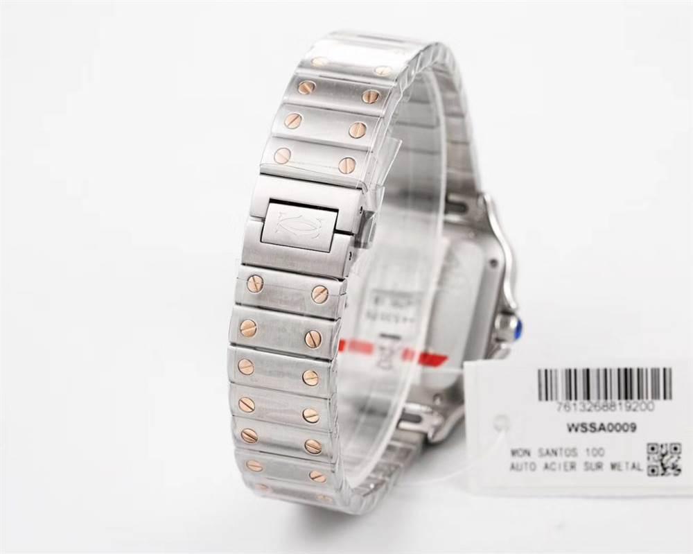 V6厂卡地亚山度士WSSA009女士35.1毫米腕表评测-圣诞好礼