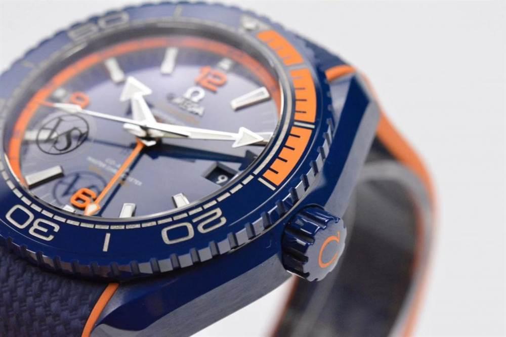 VS厂欧米茄海马600碧海之蓝腕表深度评测