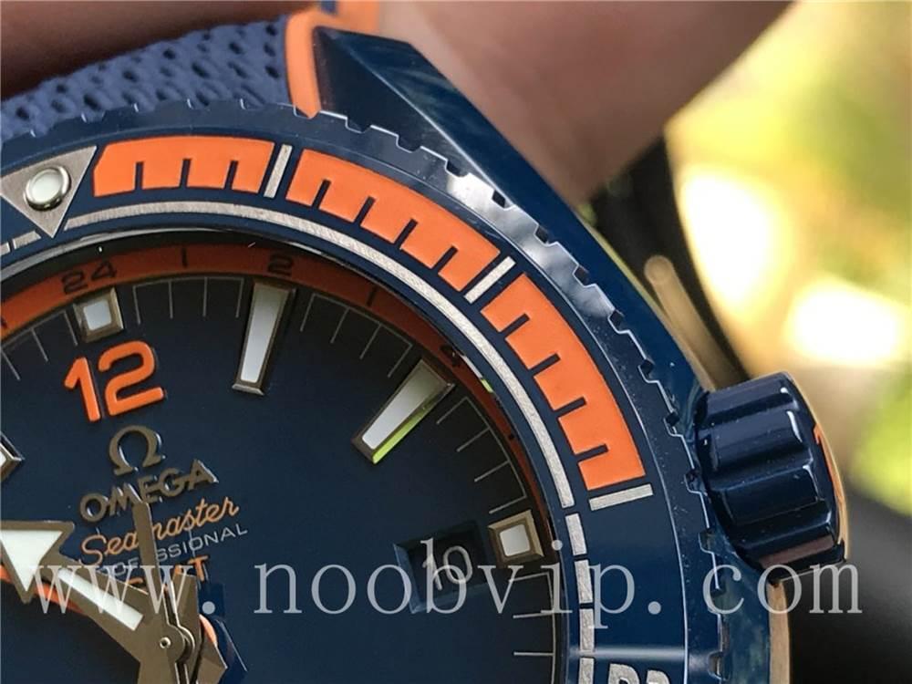 VS厂欧米茄海马600碧海之蓝复刻表实拍图片视频详细评测