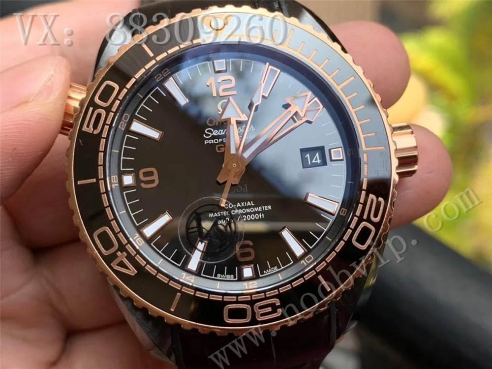 VS厂复刻欧米茄海马600深海之黑系列
