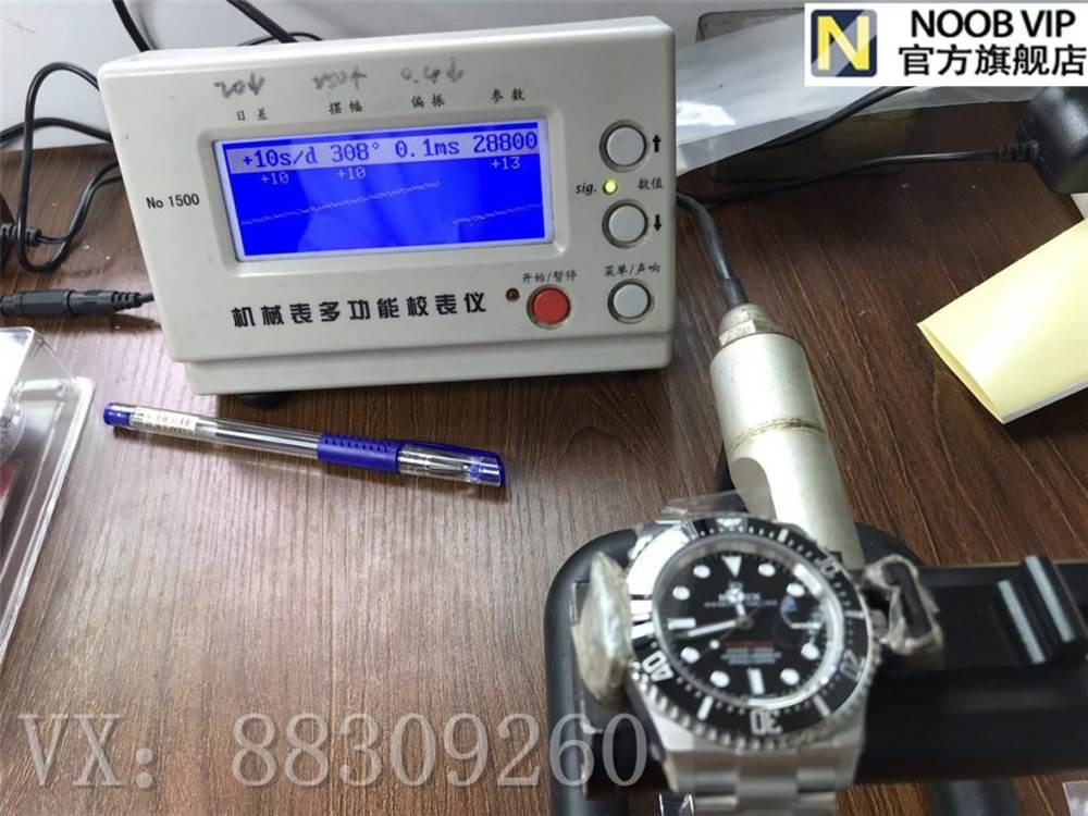 AR厂复刻劳力士单红鬼王v3版腕表实拍细节评测